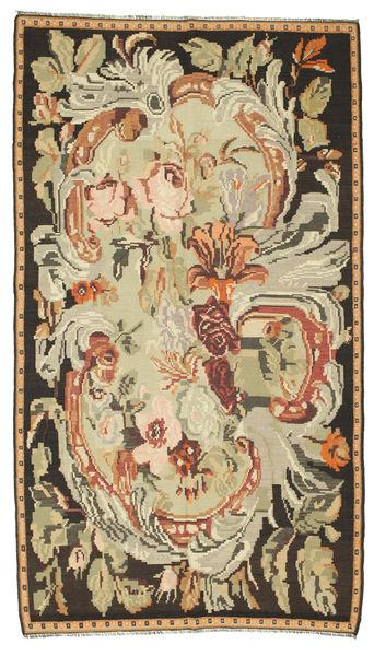 Rozenkelim Vloerkleed 180X315 Echt Oosters Handgeweven Bruin/Donkerbeige (Wol, Moldavië)