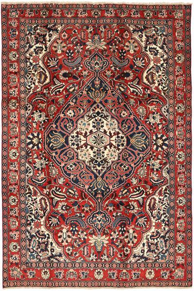 Bakhtiar Vloerkleed 205X310 Echt Oosters Handgeknoopt Donkerrood/Donkerbruin (Wol, Perzië/Iran)