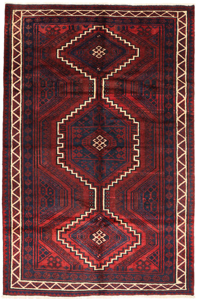Lori Vloerkleed 163X248 Echt Oosters Handgeknoopt Donkerrood/Donkerbruin (Wol, Perzië/Iran)