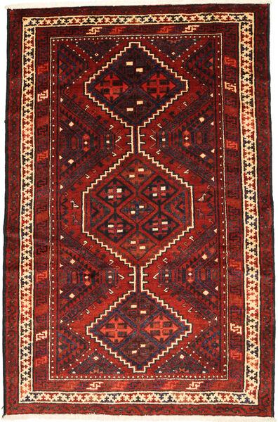 Lori Vloerkleed 171X263 Echt Oosters Handgeknoopt Donkerrood/Donkerbruin (Wol, Perzië/Iran)