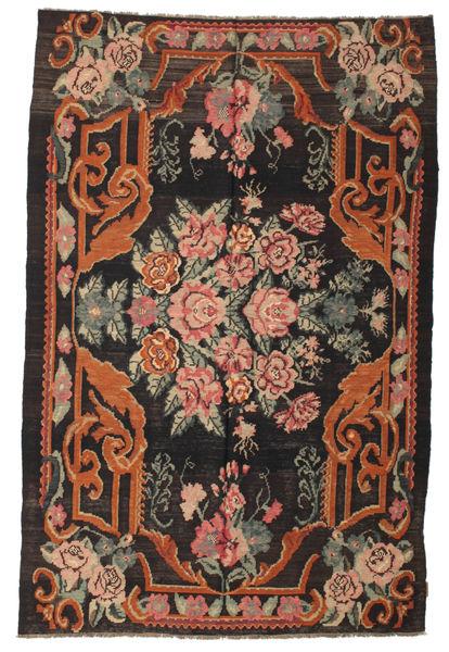 Rozenkelim Moldavia Vloerkleed 179X270 Echt Oosters Handgeweven Zwart/Rood (Wol, Moldavië)