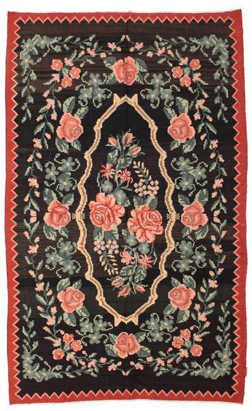 Rozenkelim Moldavia Vloerkleed 166X268 Echt Oosters Handgeweven Zwart/Donkergrijs (Wol, Moldavië)
