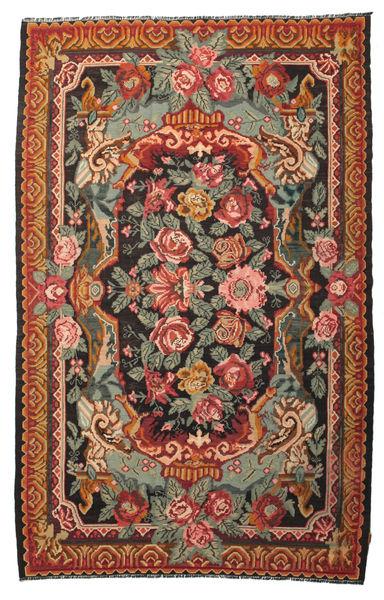 Rozenkelim Moldavia Vloerkleed 215X345 Echt Oosters Handgeweven Rood/Olijfgroen (Wol, Moldavië)