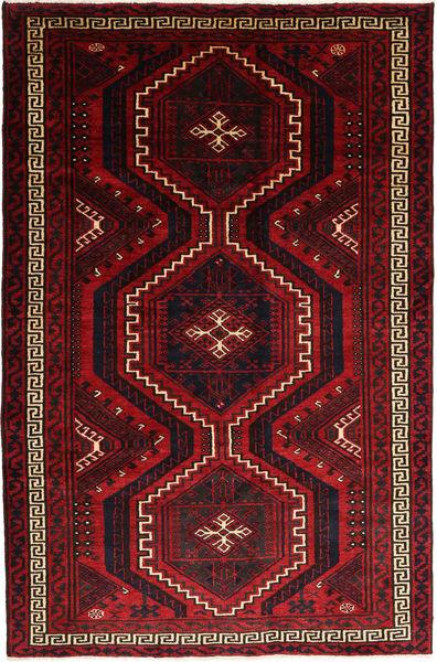 Lori Vloerkleed 174X267 Echt Oosters Handgeknoopt Donkerrood/Rood (Wol, Perzië/Iran)