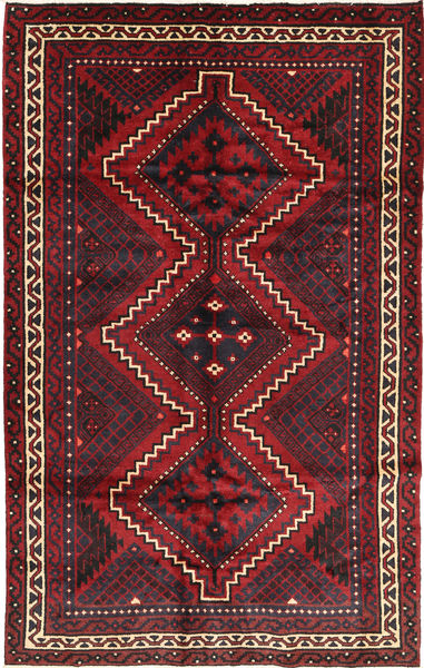 Lori Vloerkleed 178X283 Echt Oosters Handgeknoopt Donkerrood/Donkerbruin (Wol, Perzië/Iran)