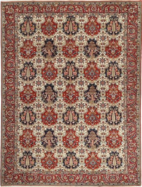 Bakhtiar Vloerkleed 304X402 Echt Oosters Handgeknoopt Donkerbruin/Lichtbruin Groot (Wol, Perzië/Iran)