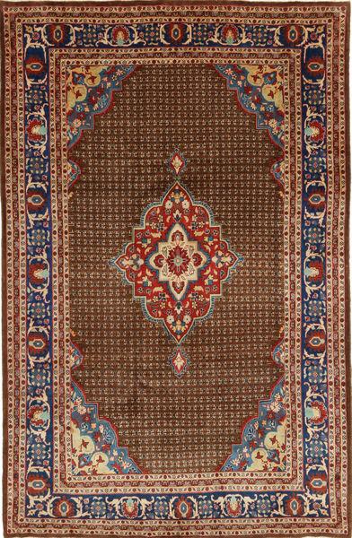 Koliai Vloerkleed 200X322 Echt Oosters Handgeknoopt Donkerbruin/Donkergrijs (Wol, Perzië/Iran)