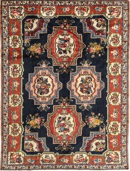 Bakhtiar Vloerkleed 207X275 Echt Oosters Handgeknoopt Donkerbruin/Donkerblauw (Wol, Perzië/Iran)