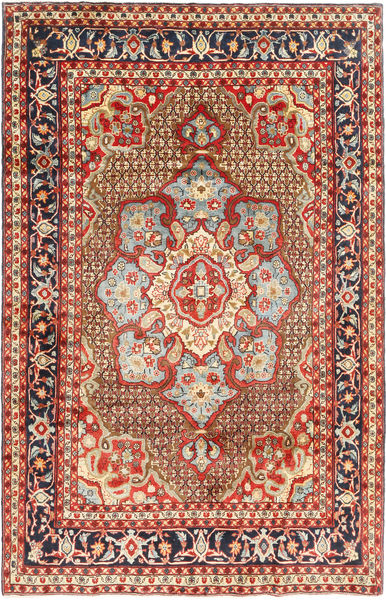 Koliai Vloerkleed 198X308 Echt Oosters Handgeknoopt Donkerrood/Donkerbruin (Wol, Perzië/Iran)