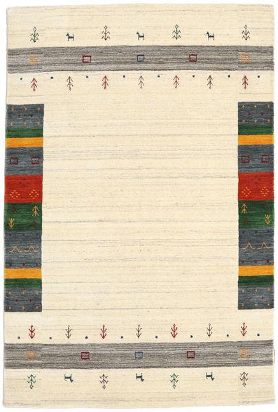 Loribaf Loom Designer - Beige Vloerkleed 120X180 Modern Beige/Donkerbeige (Wol, India)