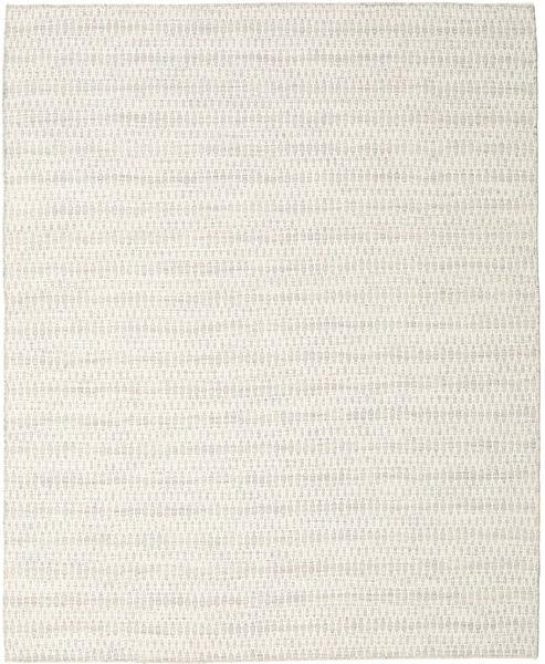 Kelim Long Stitch - Beige Vloerkleed 240X300 Echt Modern Handgeweven Donkerbeige/Beige (Wol, India)