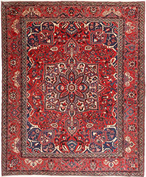 Bakhtiar Vloerkleed 330X407 Echt Oosters Handgeknoopt Donkerrood/Donkerbruin Groot (Wol, Perzië/Iran)
