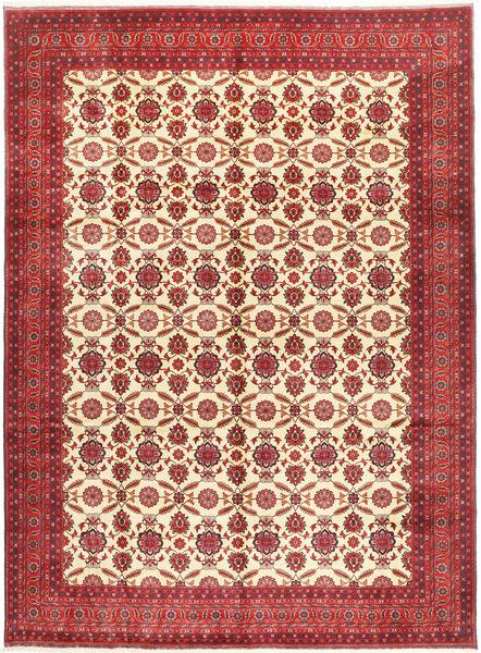 Afghan Khal Mohammadi Vloerkleed 295X395 Echt Oosters Handgeknoopt Donkerrood/Roestkleur Groot (Wol, Afghanistan)