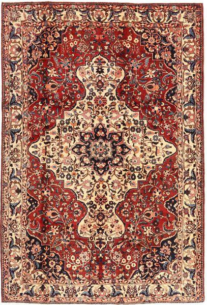 Bakhtiar Vloerkleed 215X315 Echt Oosters Handgeknoopt Donkerbruin/Donkerrood (Wol, Perzië/Iran)