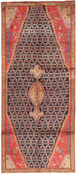 Koliai Vloerkleed 127X310 Echt Oosters Handgeknoopt Tapijtloper Roestkleur/Bruin (Wol, Perzië/Iran)