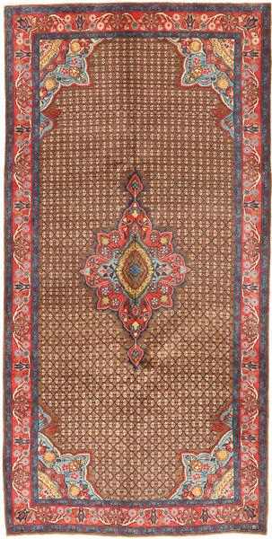 Koliai Vloerkleed 158X320 Echt Oosters Handgeknoopt Bruin/Donkerbruin (Wol, Perzië/Iran)