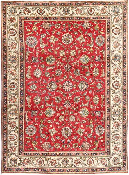 Tabriz Patina Vloerkleed 245X335 Echt Oosters Handgeknoopt Roestkleur/Lichtbruin (Wol, Perzië/Iran)