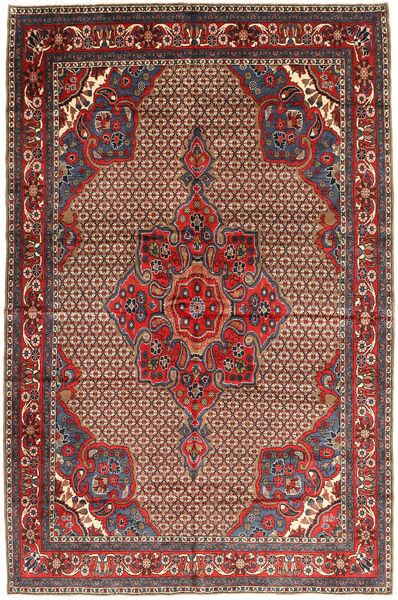 Koliai Vloerkleed 205X300 Echt Oosters Handgeknoopt Donkerrood/Donkerbruin (Wol, Perzië/Iran)