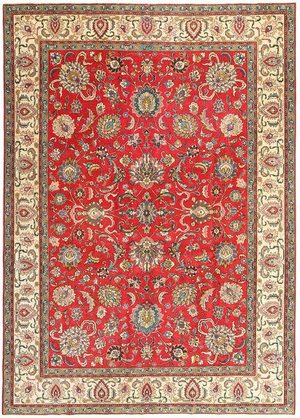 Tabriz Patina Vloerkleed 267X370 Echt Oosters Handgeknoopt Roestkleur/Donkergrijs Groot (Wol, Perzië/Iran)