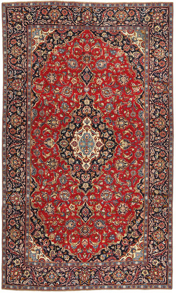 Tabriz Patina Vloerkleed 205X342 Echt Oosters Handgeknoopt Donkerrood/Roestkleur (Wol, Perzië/Iran)