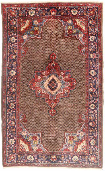 Koliai Vloerkleed 165X280 Echt Oosters Handgeknoopt Donkerrood/Lichtbruin (Wol, Perzië/Iran)