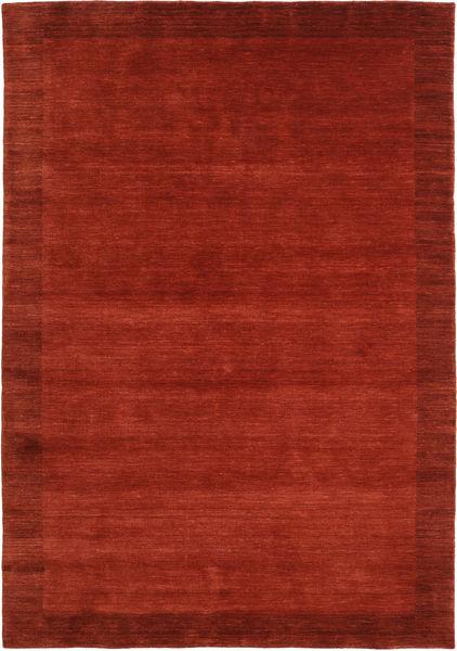 Handloom Frame - Roestkleur Vloerkleed 160X230 Modern Roestkleur/Rood (Wol, India)