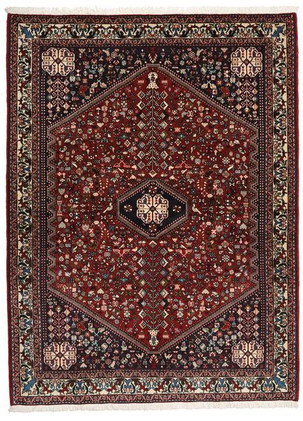 Abadeh Sherkat Farsh Vloerkleed 155X208 Echt Oosters Handgeknoopt Donkerrood/Donkerbruin (Wol, Perzië/Iran)