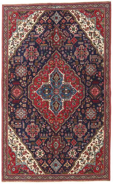 Tabriz Patina Vloerkleed 150X245 Echt Oosters Handgeknoopt Donkerpaars/Donkerrood (Wol, Perzië/Iran)