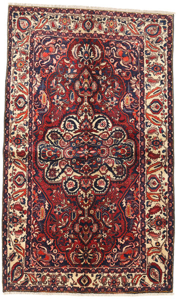 Bakhtiar Vloerkleed 145X240 Echt Oosters Handgeknoopt Donkerrood/Donkerblauw (Wol, Perzië/Iran)