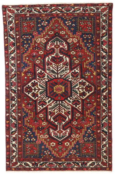 Bakhtiar Patina Vloerkleed 122X193 Echt Oosters Handgeknoopt Donkerrood/Donkerbruin (Wol, Perzië/Iran)