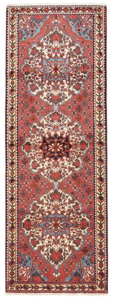 Bakhtiar Vloerkleed 108X300 Echt Oosters Handgeknoopt Tapijtloper Donkerrood/Beige (Wol, Perzië/Iran)