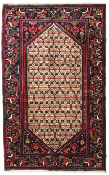Koliai Vloerkleed 128X207 Echt Oosters Handgeknoopt Donkerbruin/Donkerrood (Wol, Perzië/Iran)
