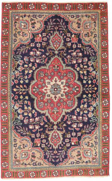 Tabriz Patina Vloerkleed 90X140 Echt Oosters Handgeknoopt Donkergrijs/Roestkleur (Wol, Perzië/Iran)