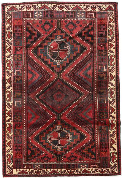 Lori Vloerkleed 171X255 Echt Oosters Handgeknoopt Donkerrood/Donkerbruin (Wol, Perzië/Iran)
