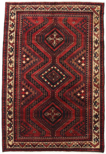 Lori Vloerkleed 180X265 Echt Oosters Handgeknoopt Donkerrood/Zwart (Wol, Perzië/Iran)