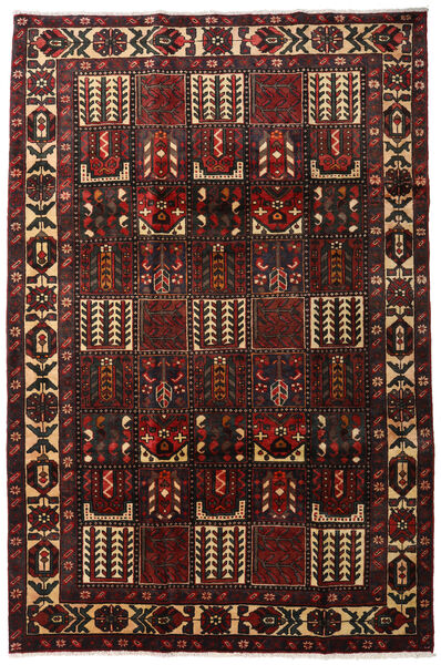 Bakhtiar Vloerkleed 205X311 Echt Oosters Handgeknoopt Donkerbruin/Donkerrood (Wol, Perzië/Iran)