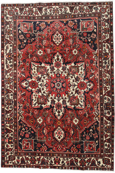 Bakhtiar Vloerkleed 213X307 Echt Oosters Handgeknoopt Donkerrood/Zwart (Wol, Perzië/Iran)