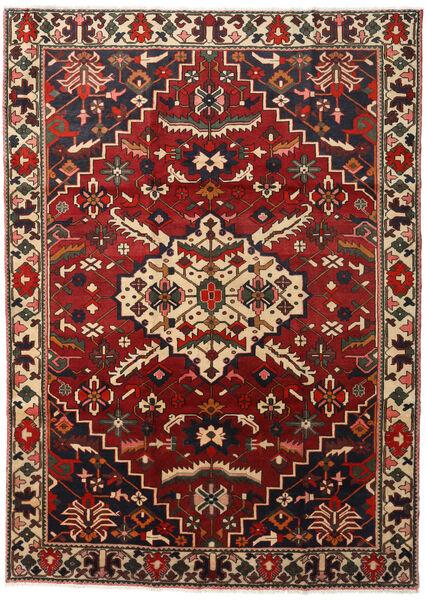 Bakhtiar Vloerkleed 218X300 Echt Oosters Handgeknoopt Donkerbruin/Donkerrood (Wol, Perzië/Iran)