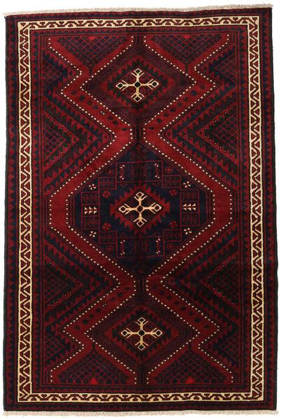 Lori Vloerkleed 182X270 Echt Oosters Handgeknoopt Donkerrood (Wol, Perzië/Iran)