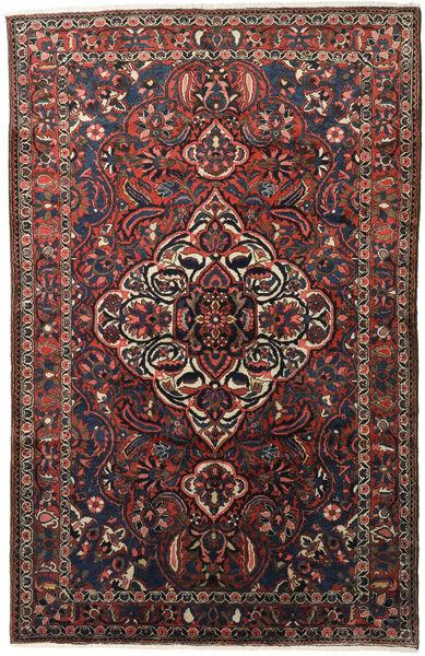 Bakhtiar Vloerkleed 155X245 Echt Oosters Handgeknoopt Donkerbruin/Donkerrood (Wol, Perzië/Iran)