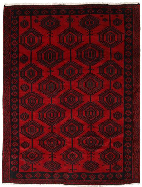 Lori Vloerkleed 205X265 Echt Oosters Handgeknoopt Donkerrood (Wol, Perzië/Iran)