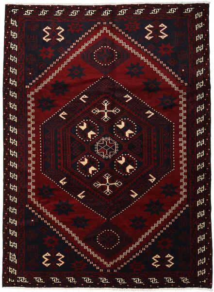 Lori Vloerkleed 220X300 Echt Oosters Handgeknoopt Donkerrood (Wol, Perzië/Iran)