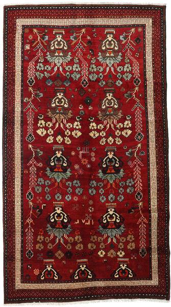 Lori Vloerkleed 145X265 Echt Oosters Handgeknoopt Donkerrood/Donkerbruin (Wol, Perzië/Iran)