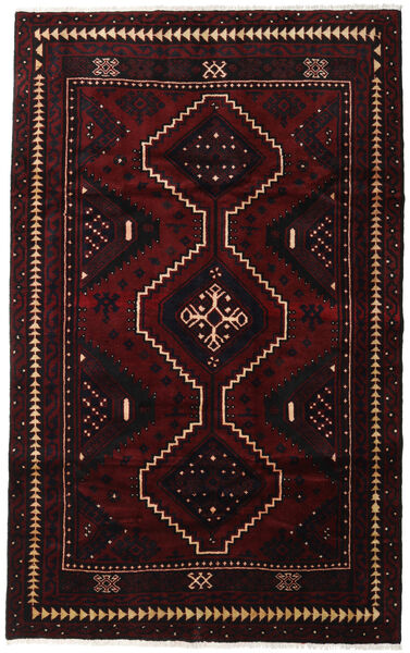 Lori Vloerkleed 170X274 Echt Oosters Handgeknoopt Donkerrood (Wol, Perzië/Iran)