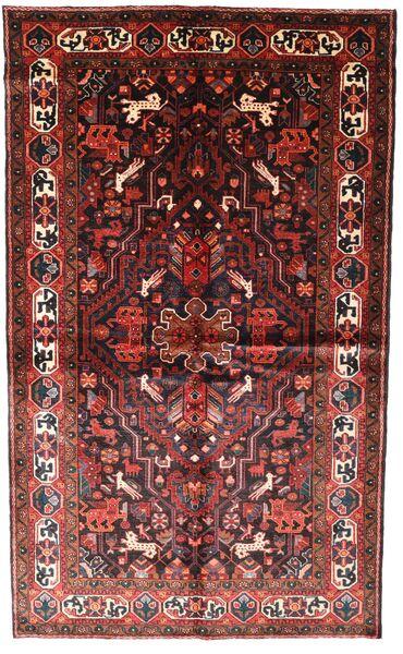 Koliai Vloerkleed 150X250 Echt Oosters Handgeknoopt Donkerrood/Donkerbruin (Wol, Perzië/Iran)