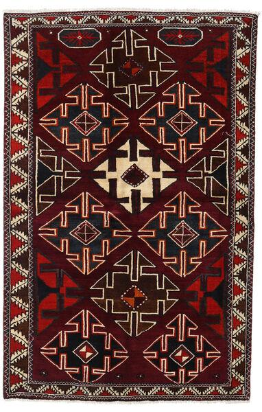 Lori Vloerkleed 138X215 Echt Oosters Handgeknoopt Donkerrood (Wol, Perzië/Iran)