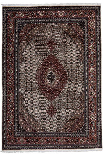 Tabriz 40 Raj Vloerkleed 208X302 Echt Oosters Handgeweven (Wol/Zijde, Perzië/Iran)