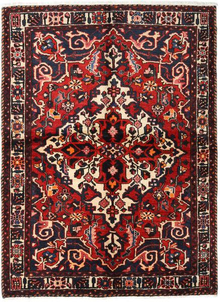 Bakhtiar Vloerkleed 155X213 Echt Oosters Handgeknoopt Donkerbruin/Donkerrood (Wol, Perzië/Iran)