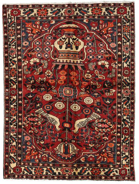 Bakhtiar Vloerkleed 156X209 Echt Oosters Handgeknoopt Donkerrood/Donkerbruin (Wol, Perzië/Iran)