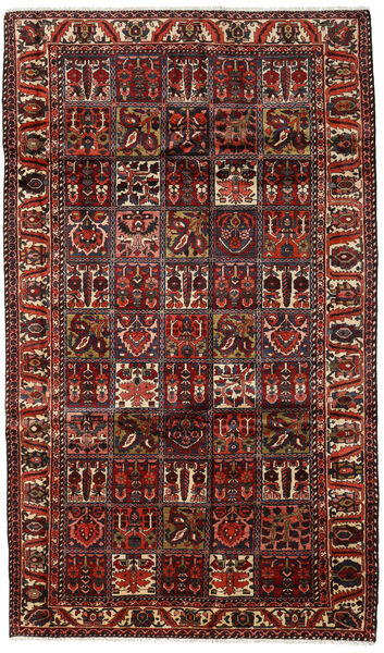 Bakhtiar Vloerkleed 169X289 Echt Oosters Handgeknoopt Donkerbruin/Donkerrood (Wol, Perzië/Iran)